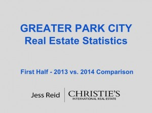 Greater Park City RE Stats