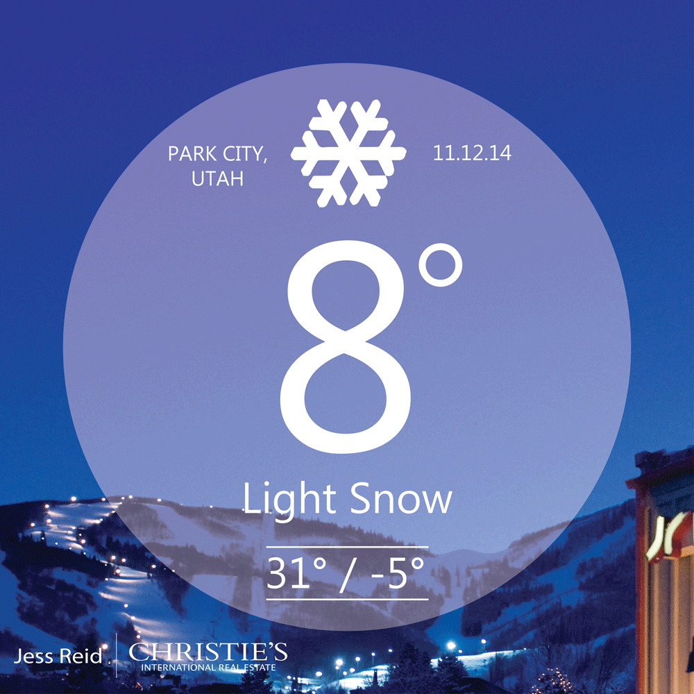 Weather Forecast From Park City