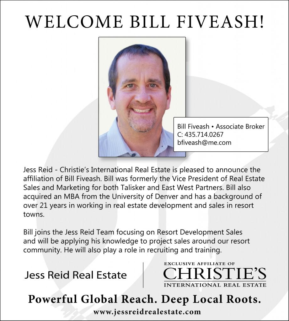 Welcome Bill Fiveash