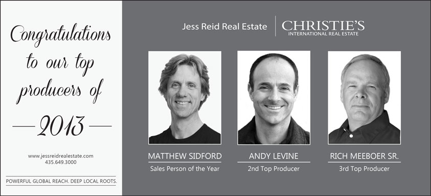 Real estate top produces