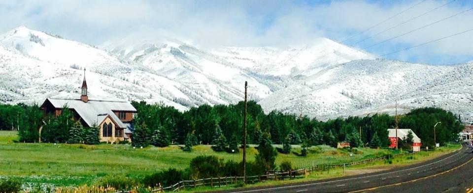 Snow June 17th